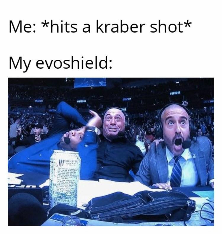 Hitting a kraber shot meme