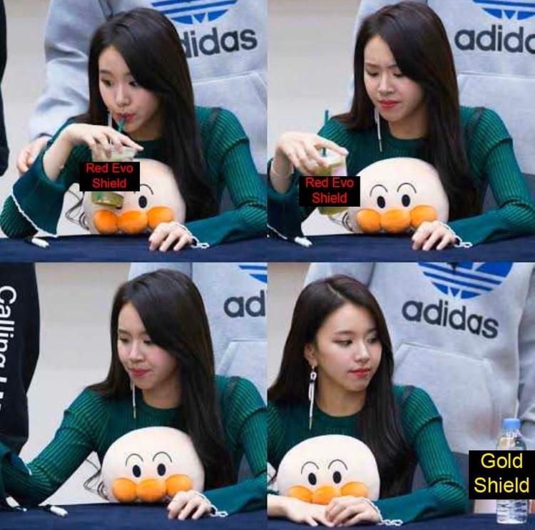 Gold shield meme