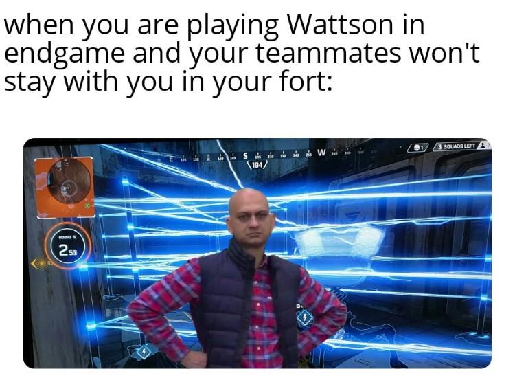 Playing Wattson meme