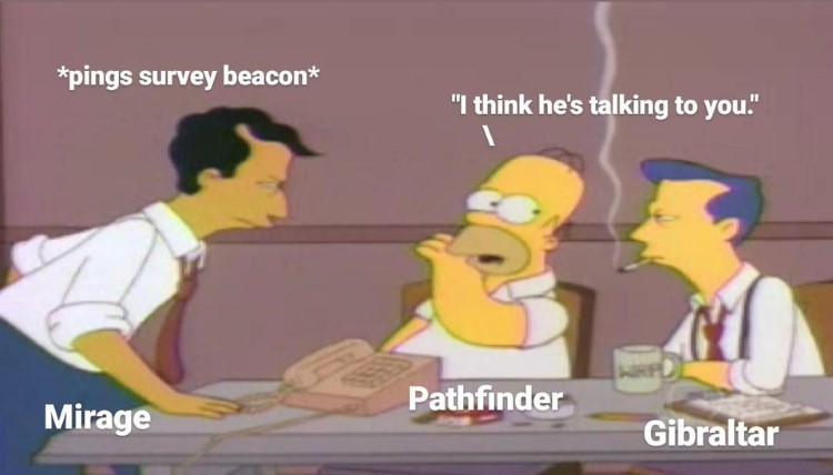 Homer talking to you Apex crossover