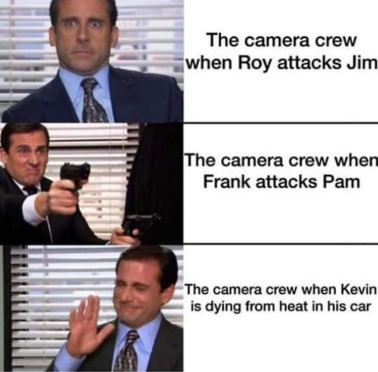 Roy attacks Jim funny