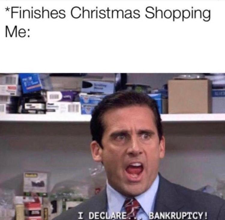 I declare bankruptcy meme