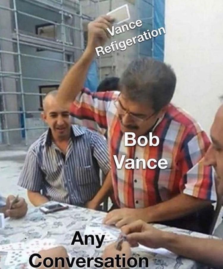 Bob Vance joke