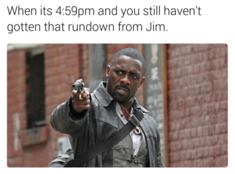 Still dont have Jims rundown