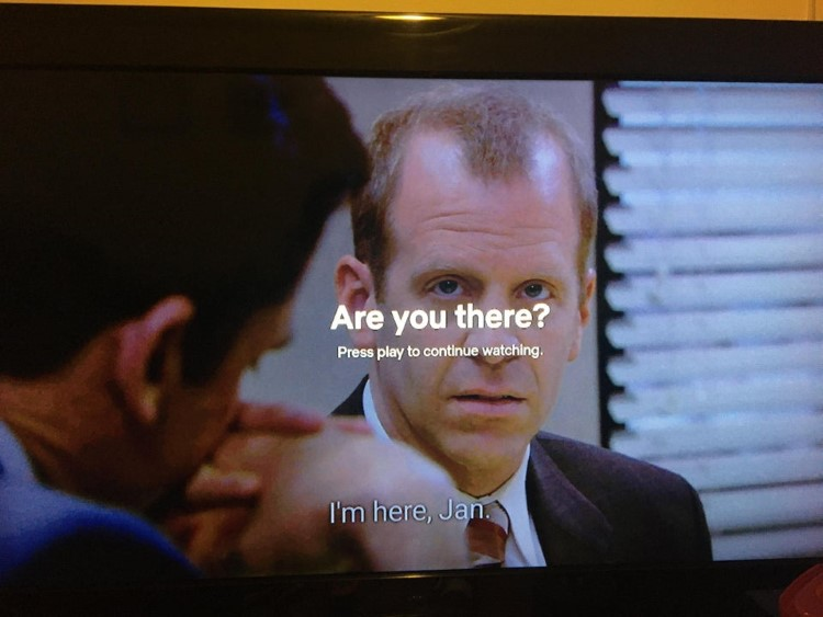 Are you there watching The Office