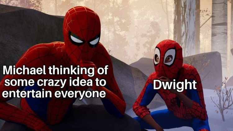 Dwight Michael as Spider man
