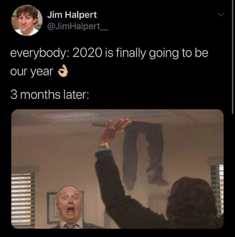 The Office 2020 is not a great year lol