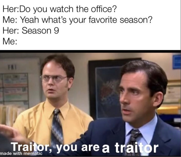 Do you watch the office