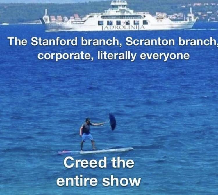 Creed is weird joke