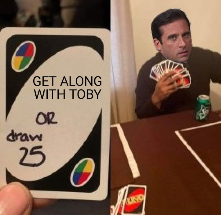 Get along with toby meme