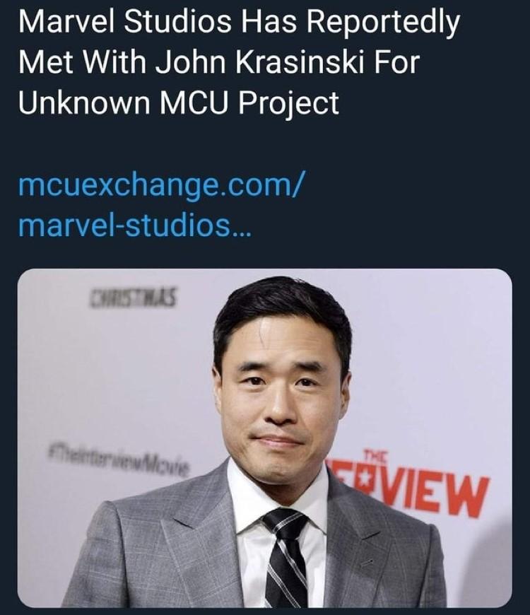 Marvel John Krasinski joke