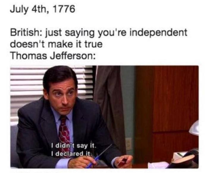 I didnt say it, I declared it meme