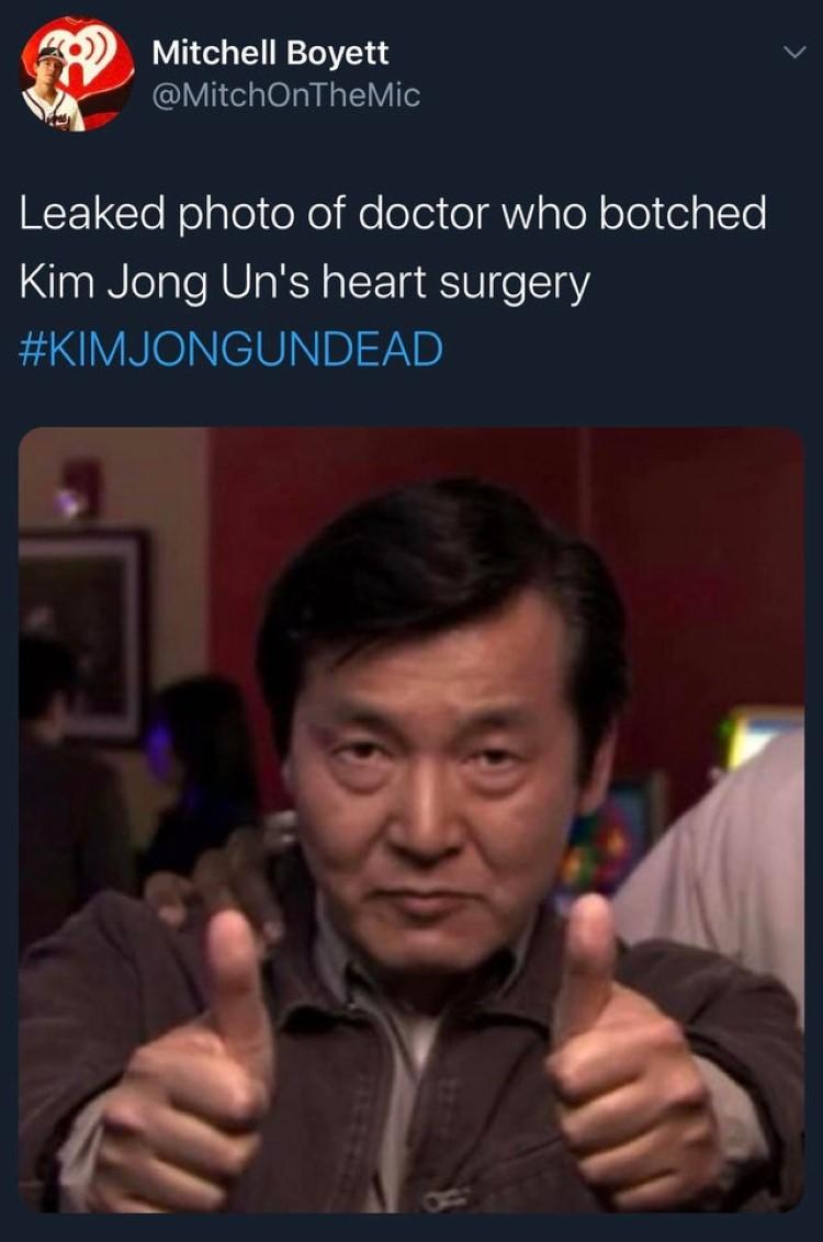 Leaked photo of doctor joke