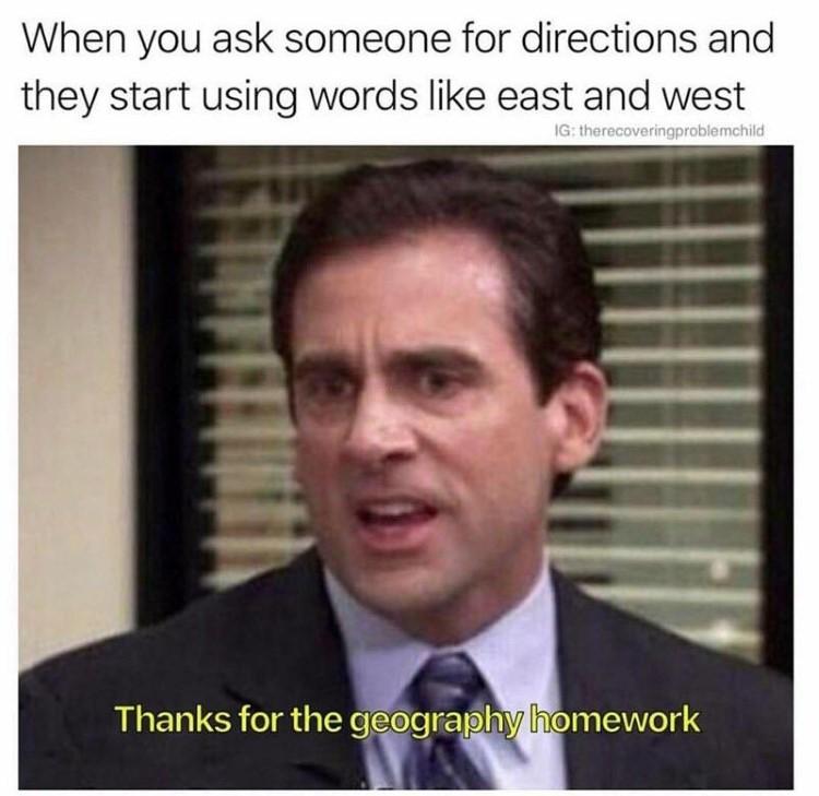 Thanks for the geography homework meme