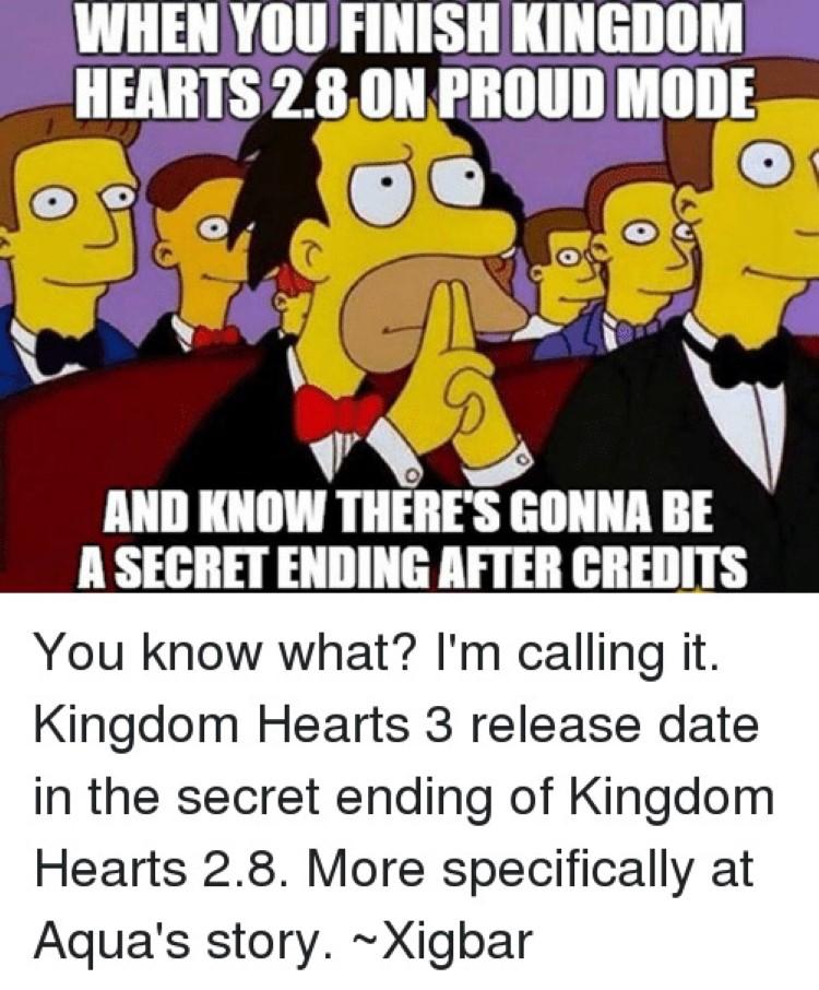 KH on proud mode secret ending