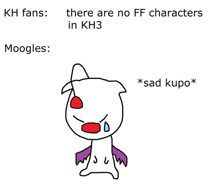 No FF characters kupo meme