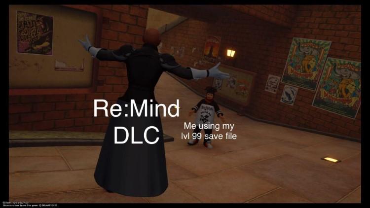 ReMind DLC is hard meme