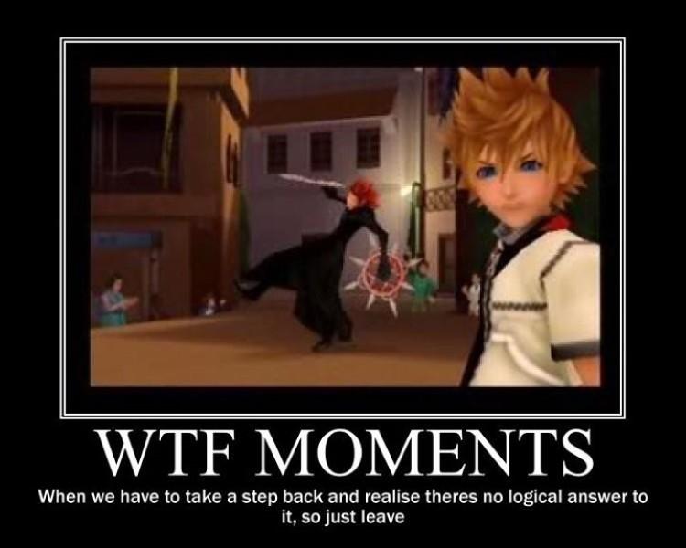 WTF moments KH2 meme