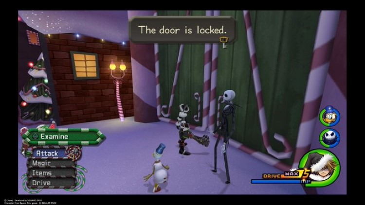 Door is locked, but I have a key