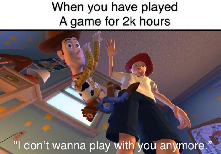 I dont wanna play with you anymore Woody KH crossover