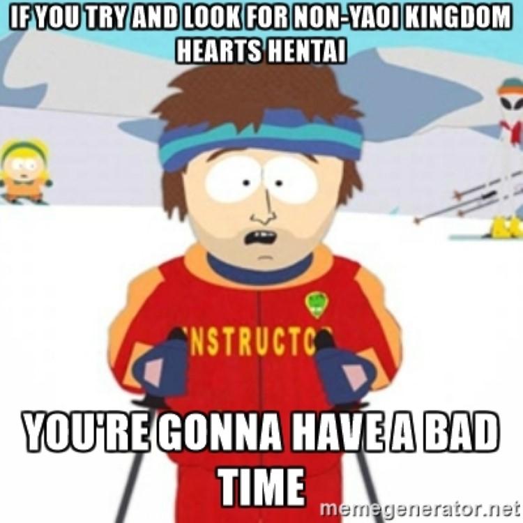 South Park gonna have a bad time crossover KH meme