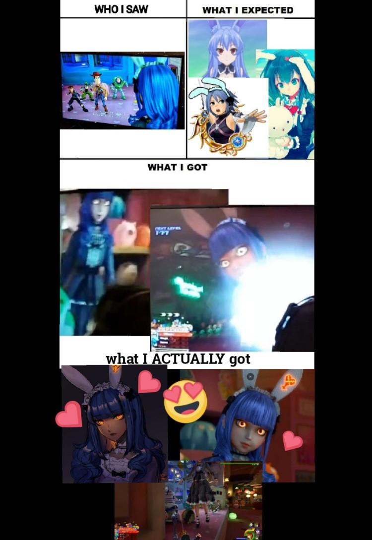 What I got crazy girls KH