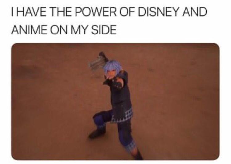 I have the power of Disney Riku
