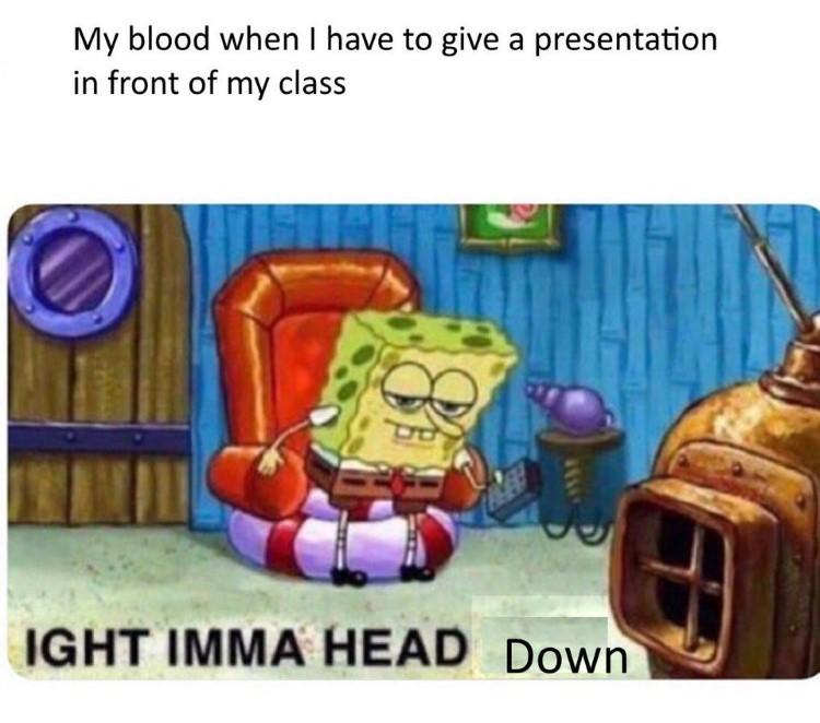 blood says ight imma head down