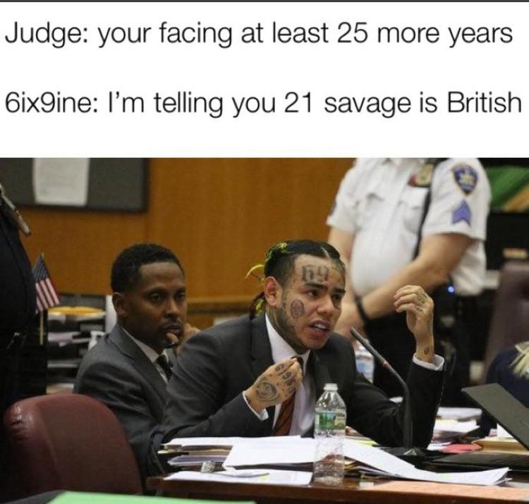 21 Savage is British Tekashi snitch