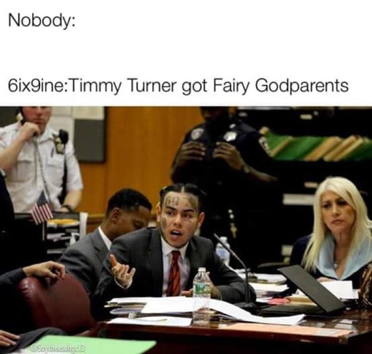 Timmy Turner has fairy godparents tattletail Tekashi