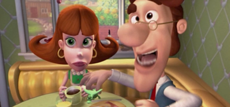 Hugh and Judy Neutron, Jimmys mom and dad funny face