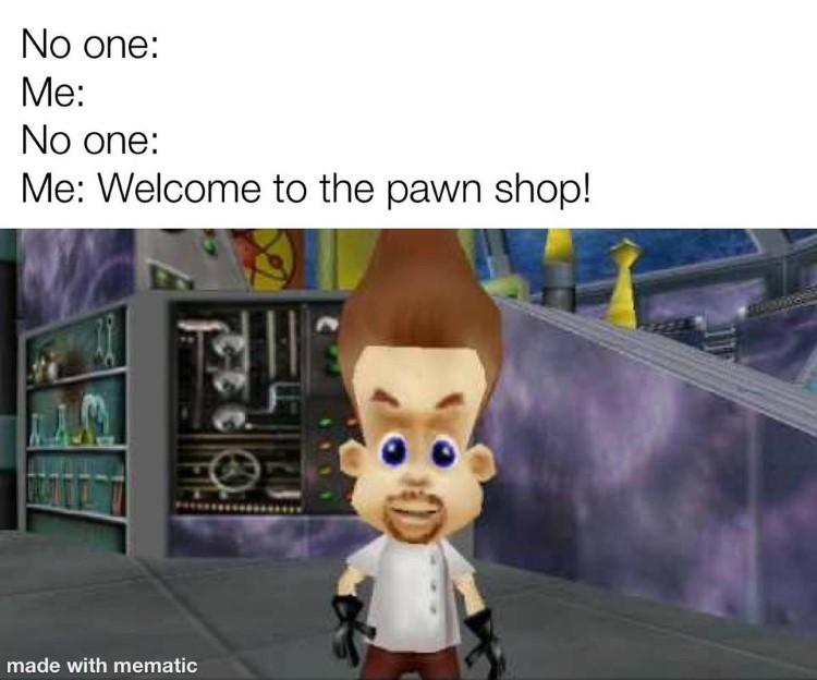 Jimmy Neutron video game joke