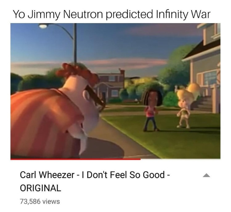 Carl Wheezer I dont feel so good