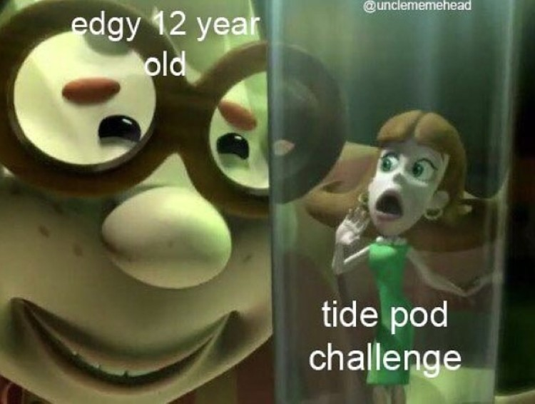 Tide pods Carl Wheezer joke