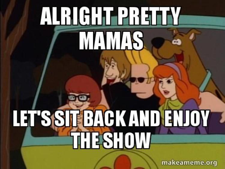 Johnny Bravo Scooby Doo meme crossover