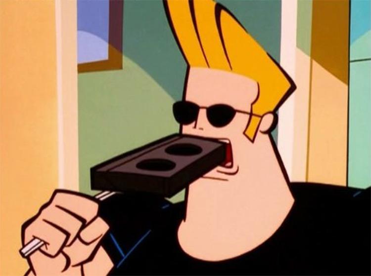 Johnny Bravo whoa mama VHS