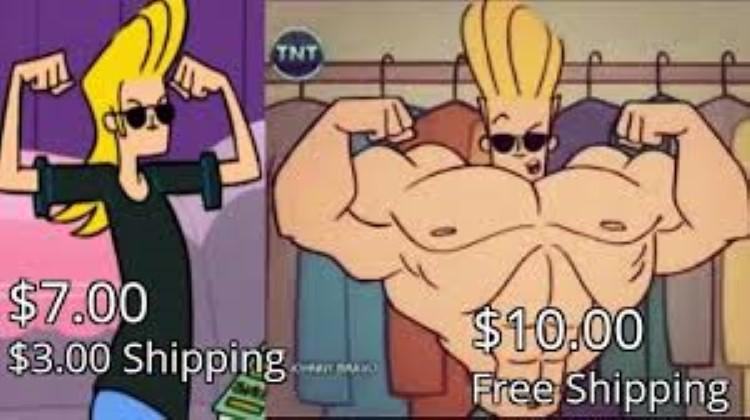 Shipping joke meme Johnny Bravo