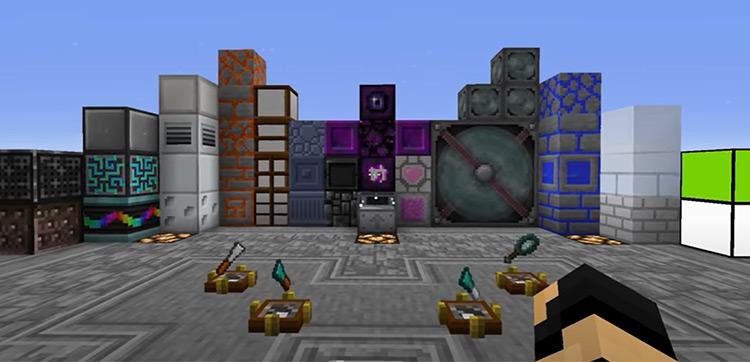 Chisel Minecraft mod