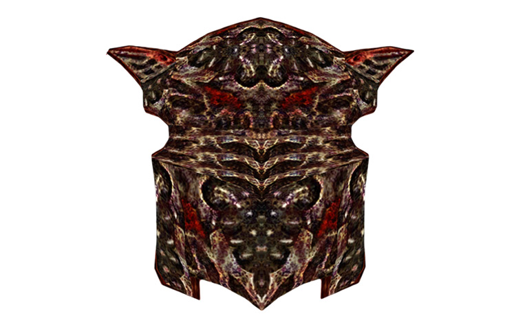 Daedric Shield Elder Scrolls IV Oblivion screenshot