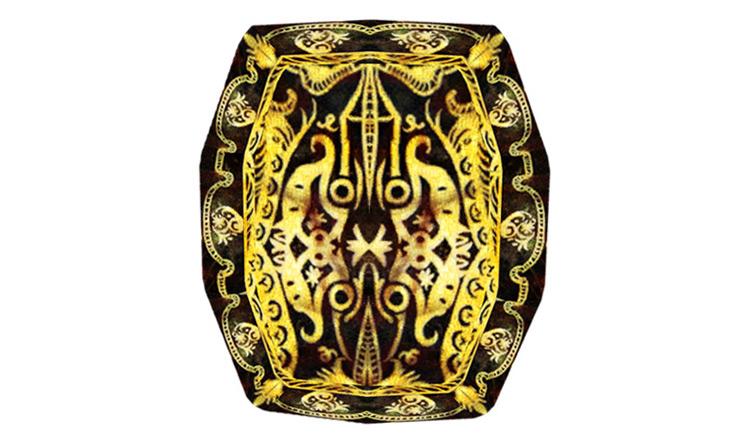Ebony Shield from Elder Scrolls IV Oblivion game