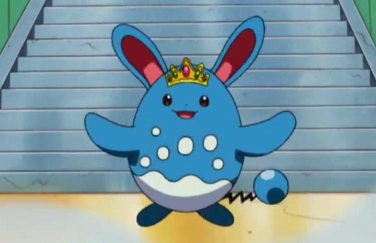 Azumarill Fairy type Pokémon screenshot