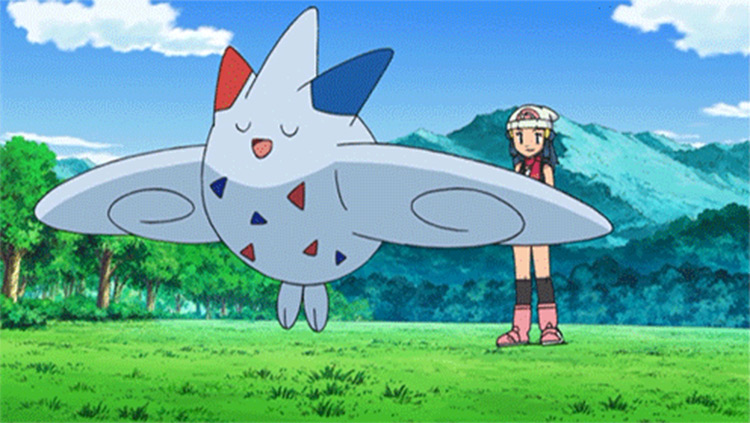 Togekiss in Pokémon screenshot