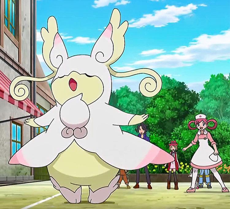 Mega Audino Pokémon character