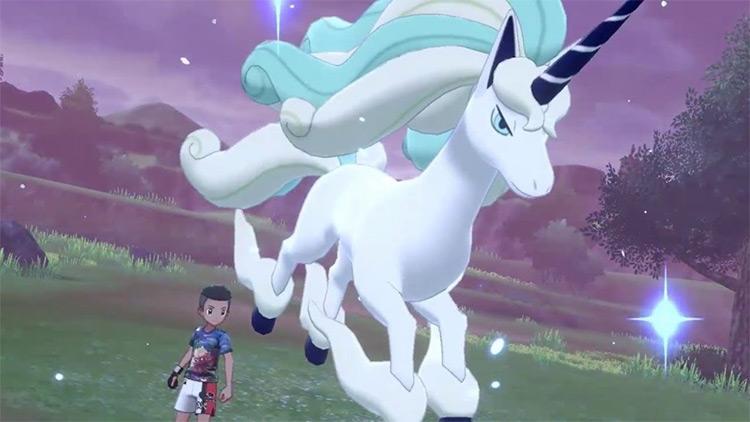 Galarian Rapidash Pokémon screenshot