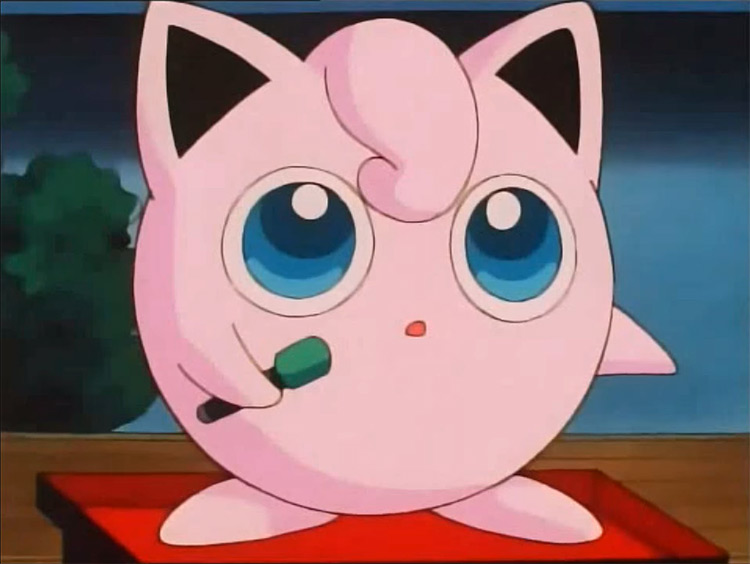 Jigglypuff from Pokémon screenshot