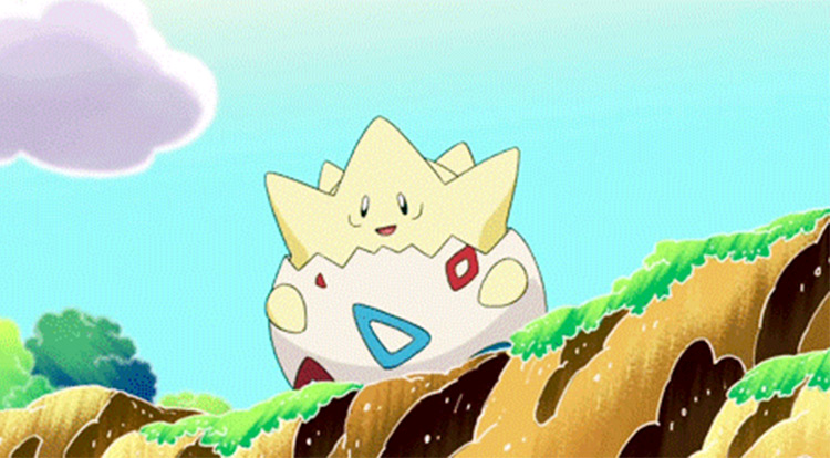 Togepi in Pokémon anime