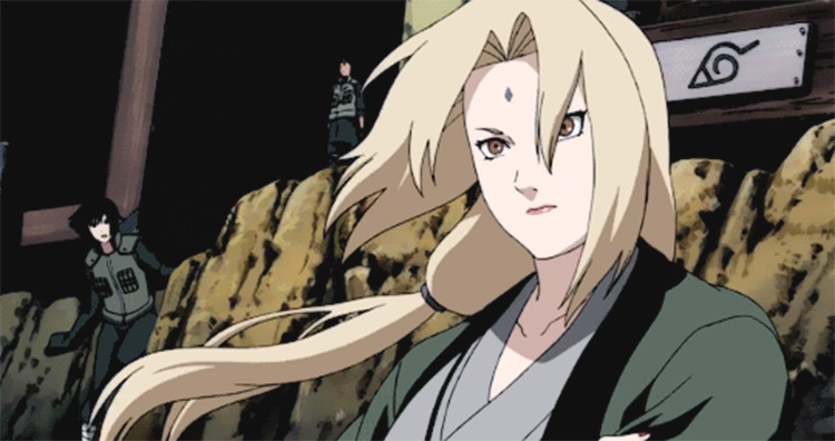 Tsunade Naruto anime screenshot