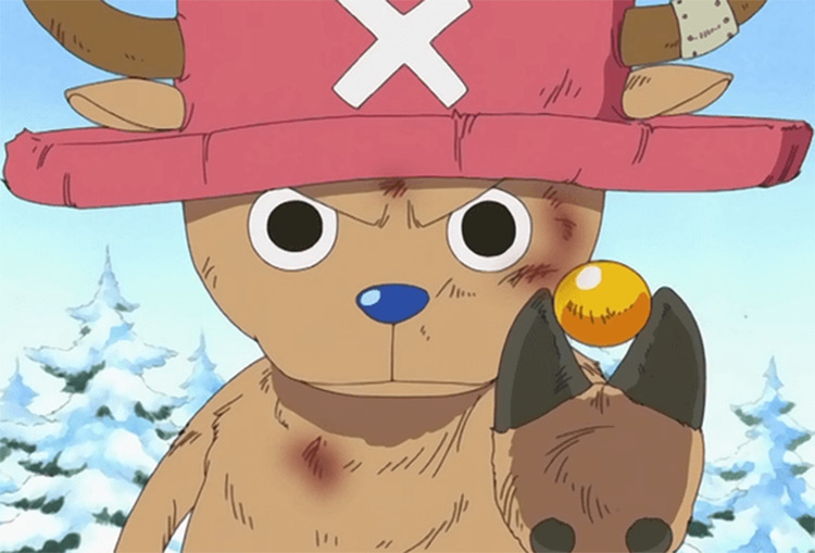Tony Tony Chopper in One Piece