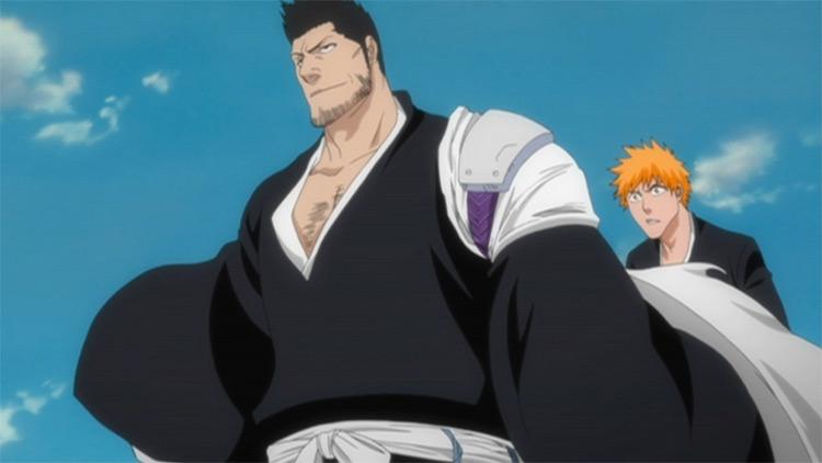 Isshin Kurosaki in Bleach anime