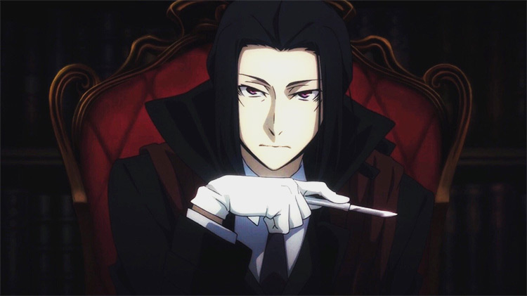 Ōgai Mori from Bungo Stray Dogs